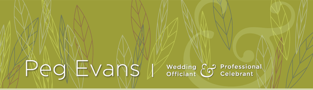 Wedding Officiant and Professional Celebrant Toronto Ontario | Peg Evans