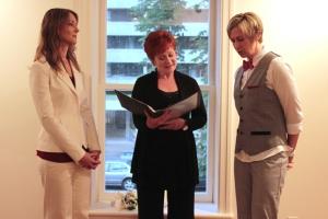 Wedding at Gay and Lesbian Archives - Toronto